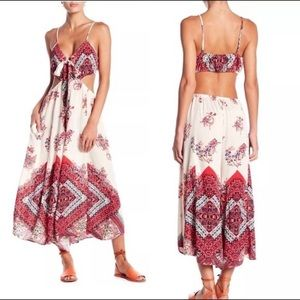 Free People Crop Jumpsuit